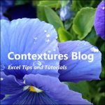 Contextures Blog Update