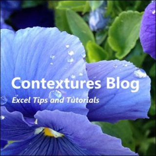 contextures blog theme update