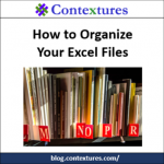 How to Organize Your Excel Files