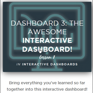 Excel Dashboard Course giveaway