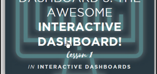 Dashboard Course Giveaway winners