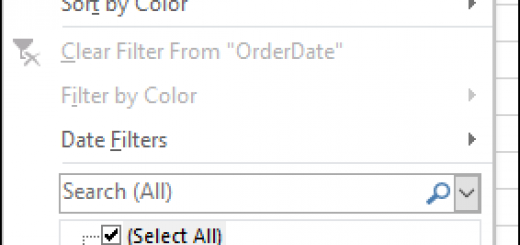 prevent grouped dates in Excel