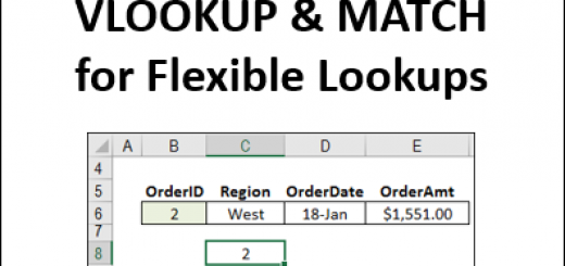 Combine VLOOKUP and MATCH for Flexible Lookups http://blog.contextures.com/