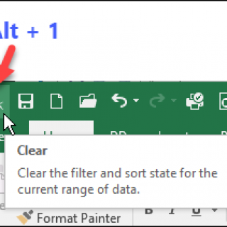 QAT and Excel Ribbon Customizations