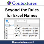 What Are the Rules for Excel Names?