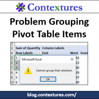 Problem Grouping Pivot Table Items http://blog.contextures.com/