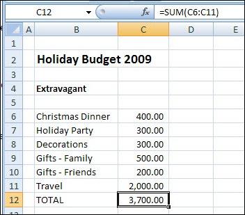 Excel Scenario 01
