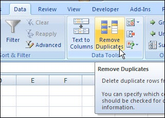 Remove Duplicates 02
