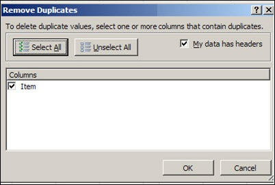 Remove Duplicates 03