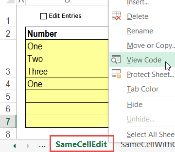 data validation multi select edit